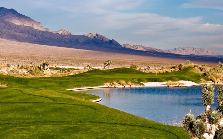 Sun Mountain no overseed at Las Vegas Paiute Golf Resort.