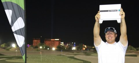 FlightScope, TaylorMade Golf Experience On Display During World Golf Skills Challenge in Las Vegas