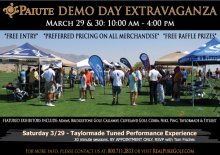 Callaway Golf, TaylorMade, Titleist To Be Part of Paiute Extravaganza
