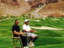 Tiger Woods, Sean Foley Hold Clinic  at Cascata During Tiger Jam