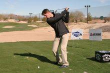 Denny Hamlin Helps Las Vegas' Callaway Golf Center Welcome NASCAR Weekend