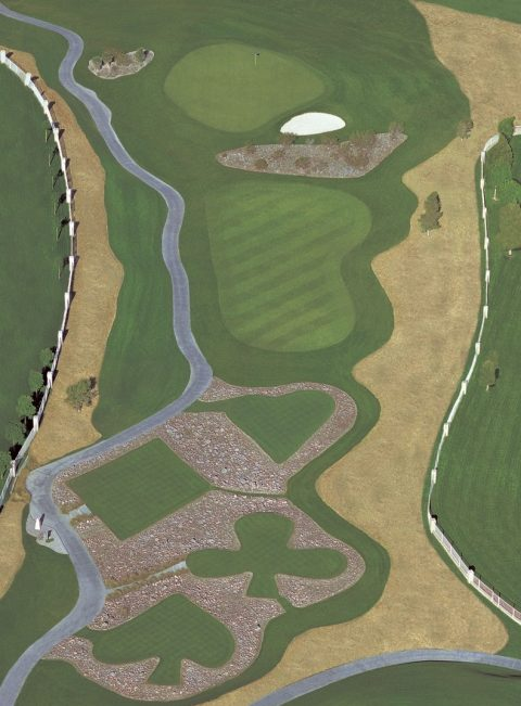Diamonds, Clubs, Spades, Hearts at Legacy Par 3 10th Tee Boxes