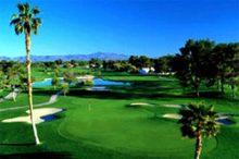 Celebrities get the green carpet golf treatment when in Las Vegas