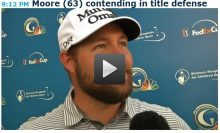 Defending Champ Ryan Moore Thrills Friends, Family, Himself with 63