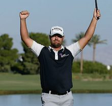 Ryan Moore and Las Vegas' Shift4 Partner on PGA TOUR Again in 2014