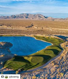 Pete Dye Stunningly Tranquil Vegas Golf Experience