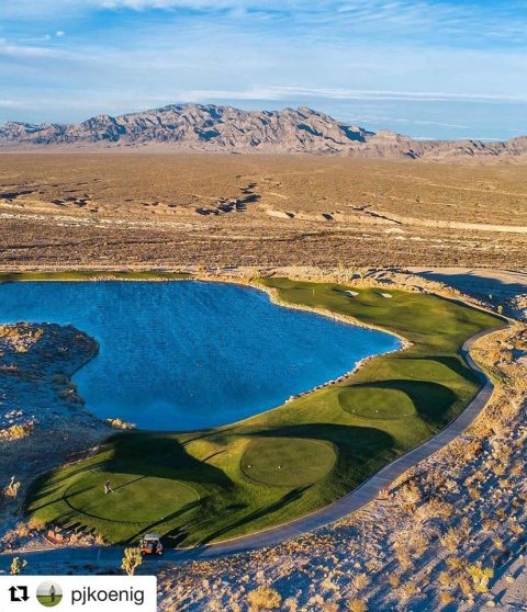 Pete Dye Stunningly Tranquil Vegas Golf Experience