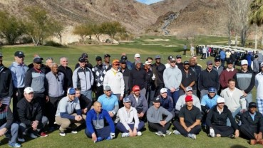 Major League baseball golf event