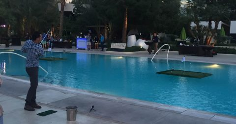 Golf Digest Think Young Play Hard Lights Up Las Vegas