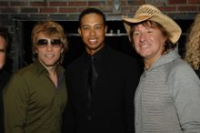 Tiger Woods Goes All In at Tiger Jam in Las Vegas