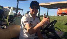NASCAR Star Kurt Busch Plays Hall Fame Golf Event at Highland Falls in Las Vegas
