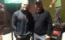 Ruthless Robbie Lawler Visits TaylorMade Golf Experience